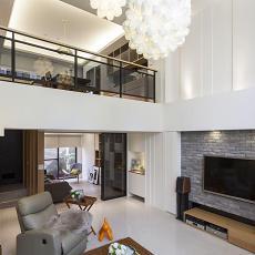 家居时尚混搭风复式楼设计
