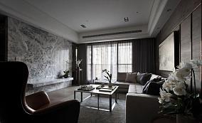 家装中式奢华风三居装修