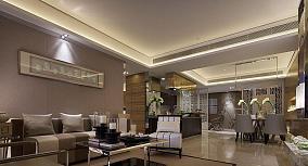 中式新古典风格家装一居室设计效果图