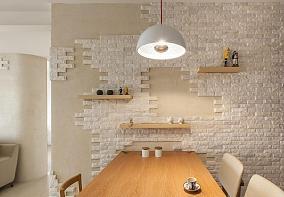 北欧低奢家装餐厅细节效果图展示