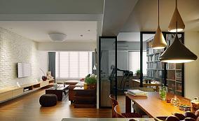 田园舒适三居室效果图展示