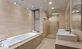 精致狭长空间卫生间装修图片