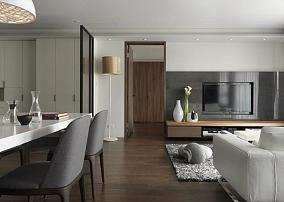 质朴简约风二居室装修效果图