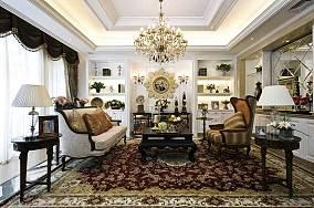 时尚奢华精美客厅装修效果图