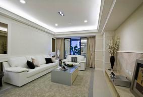 时尚现代优雅客厅装修效果图