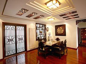 中式古典大气餐厅装修效果图