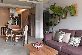 现代化自然休闲一居室装修效果图