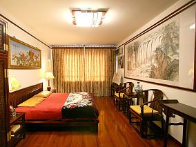 中式古典大气卧室装修效果图