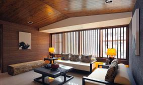 原始风格客厅装修效果图