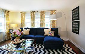 舒适时尚的客厅装修效果图