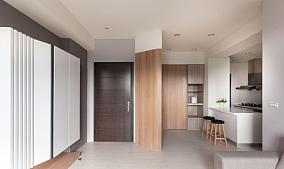 清新温馨简约风格三居室装修效果图