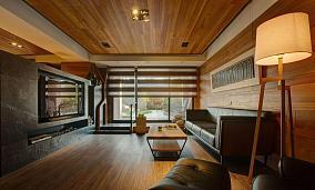 日式感低调风一居室效果图