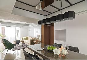 清爽舒适现代风格一居室装修效果图