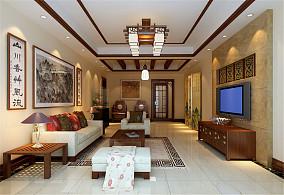 中式新古典风格两居室图片