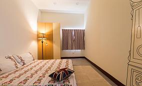 休闲别致舒适北欧风格三居室装修效果图