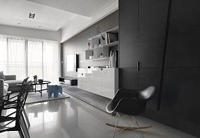 现代风精美雅感一居室效果图