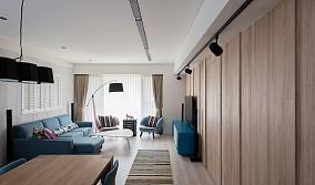 休闲减压北欧风格三居室装修效果图