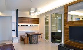 雅韵品质中式风格三居室装修效果图