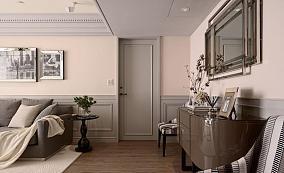 潮流美式风格三居室装修效果图