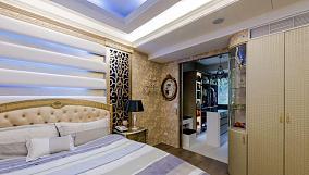 奢华神秘的新古典风格三居室装修效果图