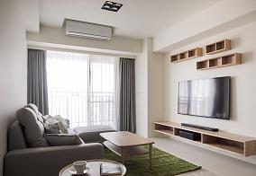 简约风偏日式三居室图片