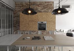 气质loft简约风格餐厅装修效果图