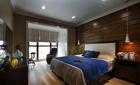 美式风色彩靓美主卧室图片