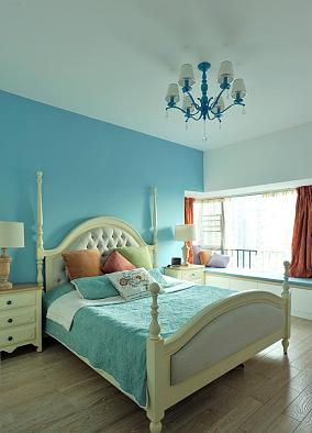 活力四射的地中海风格卧室装修效果图