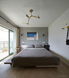 清雅北欧风格卧室设计效果图