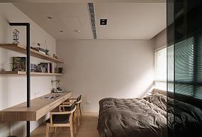 日式清闲卧室设计效果图
