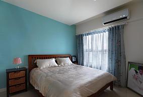 复古清新卧室设计效果图