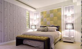 优雅都市潮流卧室设计效果图