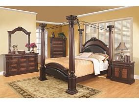 浪漫复古风情卧室装修效果图