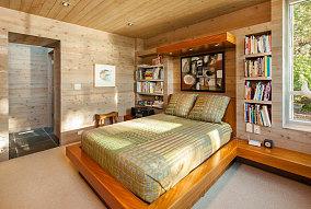 自然文艺气息卧室装修效果图
