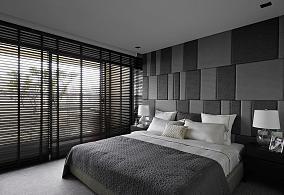 创意质感休闲卧室装修效果图