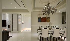 雅致新古典风格三居室装修效果图