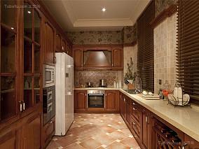 浪漫精致巴洛克厨房装修效果图