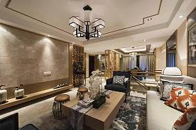 东方雅韵中式风格四居室装修效果图
