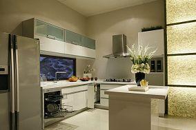 东方风格低奢时尚厨房装修效果图