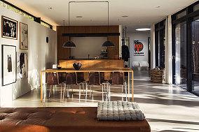 Loft工业风静谧一居室欣赏图