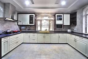 欧式奢华气质厨房装修效果图