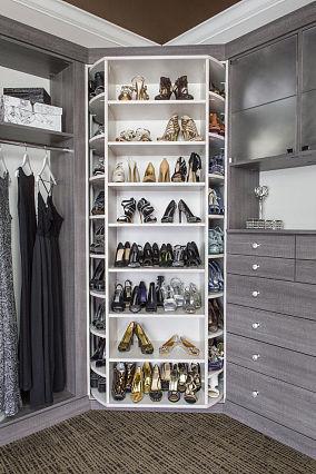 小巧个性鞋柜设计效果图