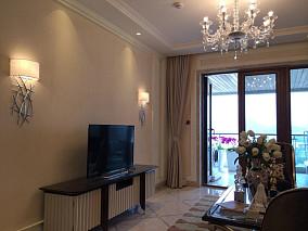 简单欧式客厅装修效果图