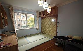 韩式榻榻米卧室装修