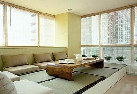 家装阳台榻榻米设计