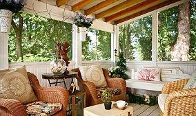 房屋阳台图片