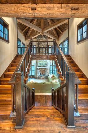 室内转角楼梯