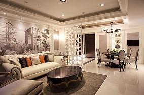 混搭风现代质感二居室欣赏图