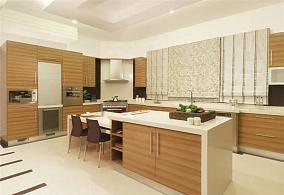 装修效果图开放型厨房