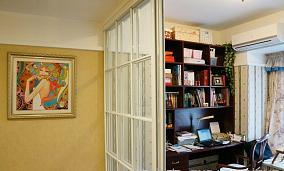 书房玻璃隔断装修效果图